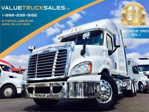 2014 FREIGHTLINER Cascadia **MICHELIN XDN2 TIRES**