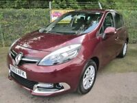 Renault Scenic 1.5 Dynamique TomTom dCi Energy 5dr Turbo Diesel (red) 2013