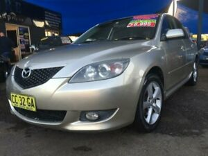 2003 Mazda 3 BK Series 1 Maxx Hatchback 5dr Spts Auto 4sp 2.0i Gold Sports Automatic Hatchback Minchinbury Blacktown Area Preview