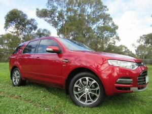 2011 Ford Territory SZ Titanium Seq Sport Shift AWD Red 6 Speed Sports Automatic Wagon Dandenong Greater Dandenong Preview