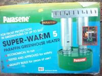 New Parasene Greenhouse Heater