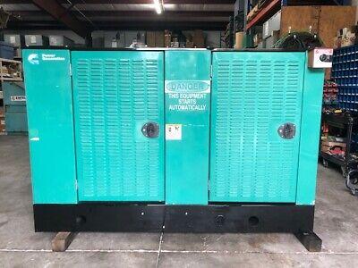 Cummins Onan 35 Kw Nglp Generator Set W895 Hours 2005-06