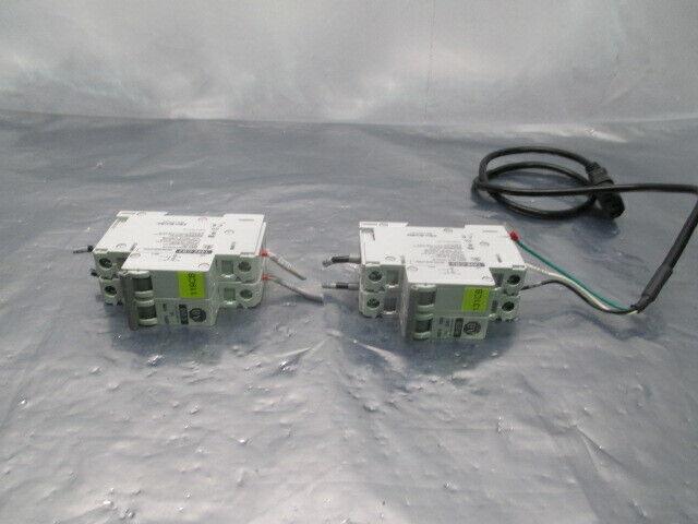 2 Allen-Bradley 1492-CB2 Circuit Breakers, AC 480Y/277V, 1PH, 453886
