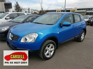 2009 Nissan Dualis J10 ST X-tronic AWD Blue 6 Speed Constant Variable Hatchback Campbelltown Campbelltown Area Preview