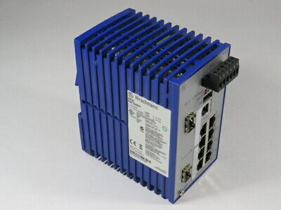 Hirschmann RS2-5TX//FX 24 VDC Ethernet Rail Switch RS25TX//FX OK