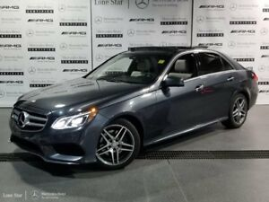 2015 Mercedes-Benz E-Class 4MATIC Sedan