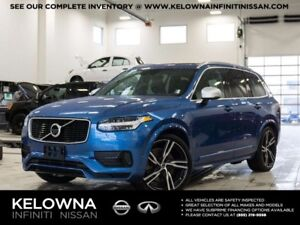 2017 Volvo XC90 HYBRID T8 R-Design w/Climate Package