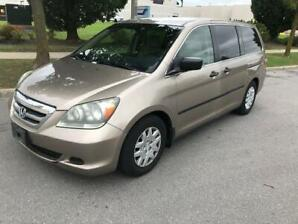 2005 HONDA ODYSSEY LX STOW & GO|7 PASSENGER|LOW KMS FOR YEAR!