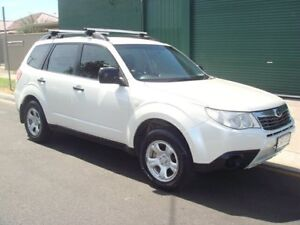 2009 Subaru Forester S3 MY10 X AWD Pearl White 5 Speed Manual Wagon Hampstead Gardens Port Adelaide Area Preview