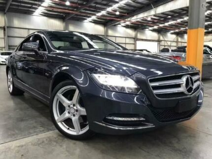 2012 Mercedes-Benz CLS350 C218 BlueEFFICIENCY Coupe 7G-Tronic Tenorite Grey 7 Speed Sports Automatic