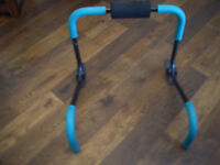 Tummy Cruncher Exercise Machine and Full length Mat