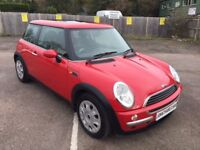 MINI ONE ONLY 55,600 MILES, SERVICE HISTORY, 1 YEARS MOT, OUTSTANDING CONDITION