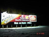 Billboard Hwy #1 West facing Wpg Bound Traffic
