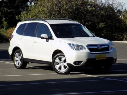 2013 Subaru Forester S4 MY13 2.5i-L Lineartronic AWD White 6 Speed Constant Variable Wagon Blair Athol Port Adelaide Area Preview