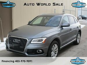 2013 Audi Q5 2.0L Premium Plus |NAV|Camera|Roof