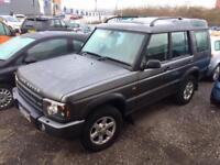 LAND ROVER DISCOVERY 2.5 Td5 GS 7 seat 5dr Auto (grey) 2003