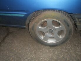 Peugeot 205 1.1 3 door breaking with 13 inch alloys all good parts PHONE ONLY