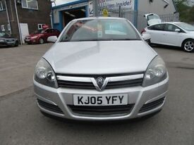 Vauxhall Astra CLUB 16V 5d AUTO 124 BHP good value (silver) 2005
