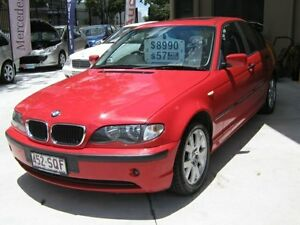 2002 BMW 318I E46 MY2002 Executive Steptronic Red 5 Speed Auto Steptronic Sedan Coopers Plains Brisbane South West Preview