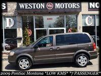 2009 Pontiac Montana SV6 LOW KMS!* GREAT FAMILY MOVER* CAPTAIN C