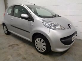 PEUGEOT 107 , 2009 , ONLY 36000 MILES + HISTORY, £20 ROAD TAX, LONG MOT, FINANCE AVAILABLE, WARRANTY