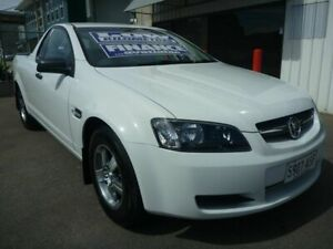 2009 Holden Ute VE MY09.5 Omega White 4 Speed Automatic Utility Edwardstown Marion Area Preview