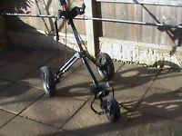 3 Wheel push trolley