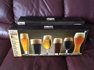 GLASSWARE SET -   6 pcs - CRAFT BREWS