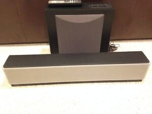 Yamaha Sound Bar and Subwoofer