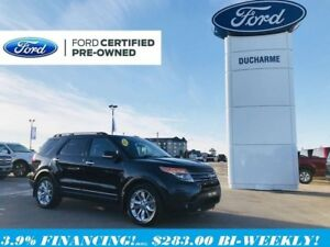 2015 Ford Explorer Limited, 4x4, Leather, R/Start, MoonRoof, 3.9