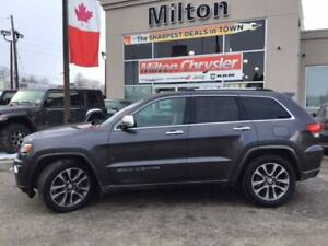 2018 Jeep Grand Cherokee OVERLAND|LEATHER|NAVIGATION|SUNROOF