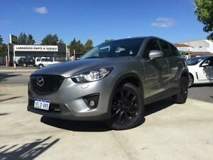 2014 Mazda CX-5 MY13 Upgrade Grand Tourer (4x4) Silver 6 Speed Automatic Wagon Beckenham Gosnells Area Preview