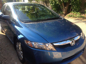 Honda Civic 2009 Berline DX BAS KILOMÉTRAGE + garantie 1 an