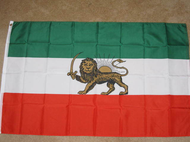 3X5 OLD IRAN FLAG PERSIA FLAGS PERSIAN NEW BANNER F541