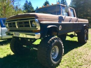 1972 F350 Crewcab 4x4 Long box