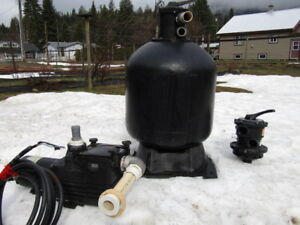 POOL  PUMP ,  FILTER ,  VALVES