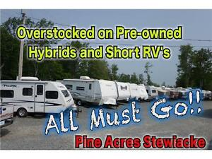 OverStock Sale on Hybrids and short RVs' Pine Acres Stewiacke