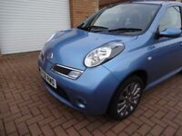 NISSAN MICRA 1.2 TEKNA 2008, 5, DOOR, 12 MONTHS MOT, JUST SERVICED, 66K MILES, EXCELLENT CONDITION