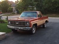 All Original 1978 Chevrolet Cheyenne Short Box