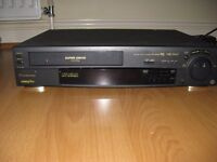 Panasonic VHS video player and recorder