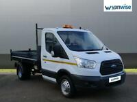 2016 Ford Transit 2.2 TDCi 125ps Chassis Cab Diesel white Manual