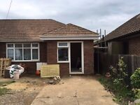 Independant newly built two rooms set with in a Bungalow, front entrance, near town center & rail