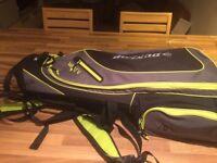 golf clubs + equipment