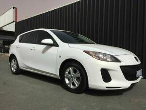 2013 Mazda 3 BM Neo White 6 Speed Automatic Hatchback