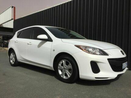 2013 Mazda 3 BM Neo White 6 Speed Automatic Hatchback Phillip Woden Valley Preview