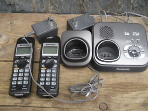 panasonic kx-tg9331ct cordless phone and digital answering syste