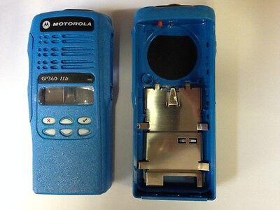 Motorola GP360 FuG11b Frontcover blau mit Anbauteilen