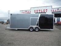 22 ft All-Aluminum Enclosed Car Hauler by CargoPro - TAXES IN!