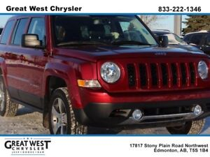 "2017 Jeep Patriot HIGH ALTITUDE 4X4**ULTRA LOW KMS**6.5"" TOUCHS"