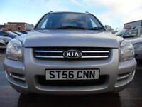 2006 Kia Sportage 2.0CRDi VGT XS diesel 6 speed 4wd full service full spec